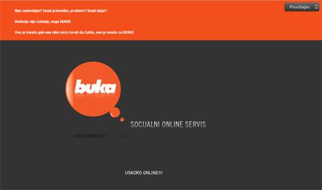 Buka - Socijalni online servis