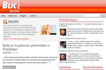 Blic blog: Kada se iz princeze pretvorimo u Pepeljugu