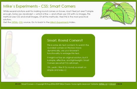 CSS: Smart Corners