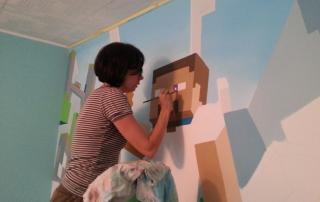 Rađanje Stiva, glavnog junaka naše Minecraft priče