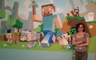 Minecraft i Jelena nakon 12 sati rada
