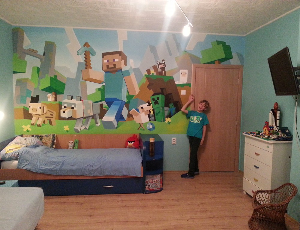 Minecraft dečija soba